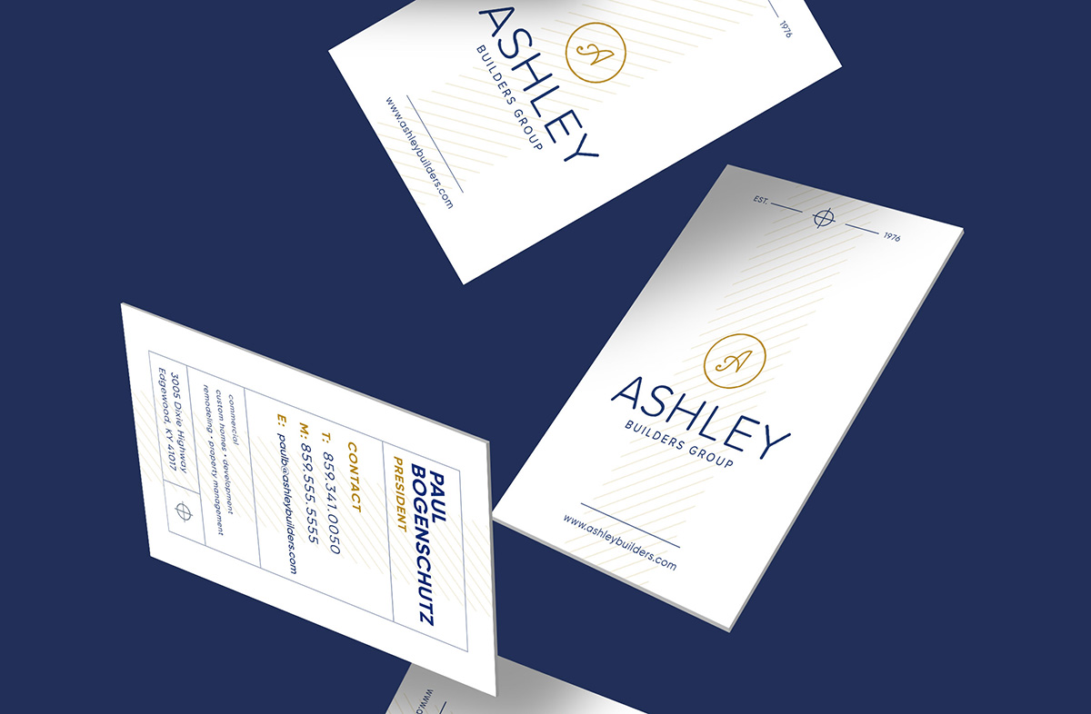 Ashley Builders Business Cards