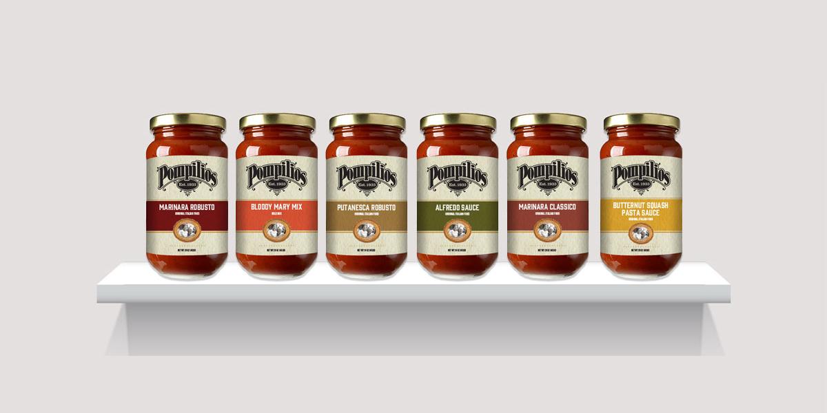 Pompilio's Sauce Mockup